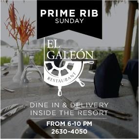 Prime Rib Sunday @ El Galeon Restaurant
