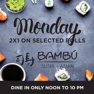 Sushi Mondays