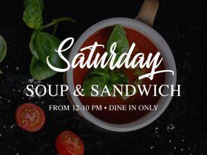 Soup & Sandwich @ The Hook Up